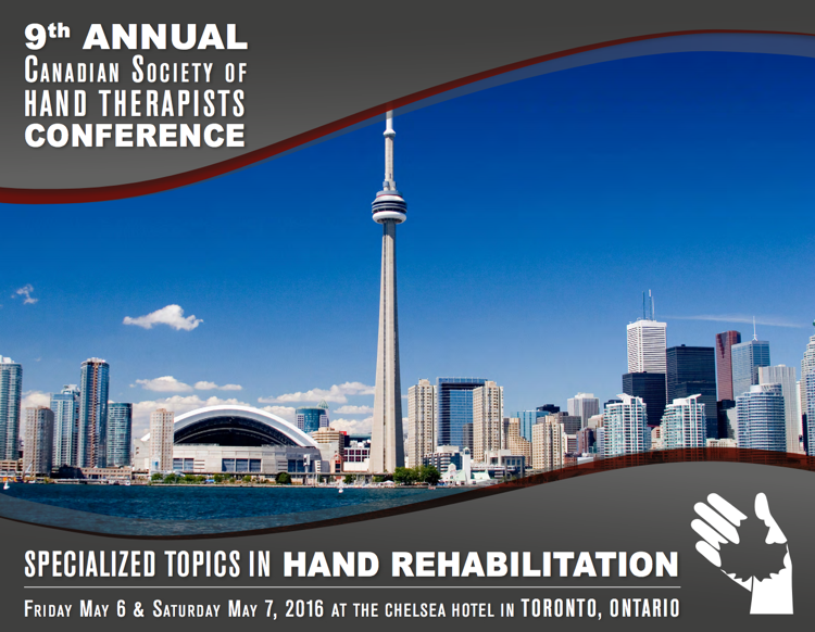 Specialized Topics in Hand Rehabilitation - CSHT 2016 Conference